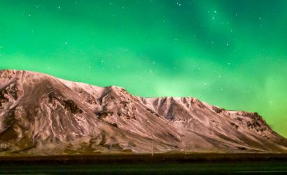 Zorza nad Górami Błękitnymi. Islandia. Fot: The Blue Mermaid Travel
